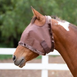 Kensington Fly Mask with Fleece Trim Large Natural found on Bargain Bro India from Horse.com for $29.85