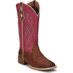 Justin Ladies Breakaway Sq Boots 6.5 B Dark Brown found on Bargain Bro India from Horse.com for $115.51
