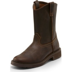 Justin Mens Work Stampede 11in Round Boot 12EE found on Bargain Bro India from StateLineTack.com for $109.95
