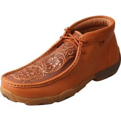 Twisted X Mens Tooled Flowers Driving Mocs 11EE found on Bargain Bro India from Horse.com for $131.95