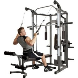 Marcy Smith Home Gym System Gray
