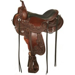 Circle Y Goodnight Wind River Saddle Wide 15.5 Wal found on Bargain Bro Philippines from Horse.com for $2535.00