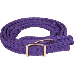 Mustang Nylon Braided Contest Rein Purple found on Bargain Bro India from Horse.com for $15.69
