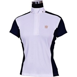 GHM Ladies Champion S/S Show Shirt 38 Navy found on Bargain Bro India from Horse.com for $49.95