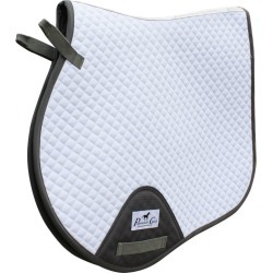 Pro Cho VenTECH Jump Saddle Pad White/Charcoal found on Bargain Bro India from Horse.com for $56.99