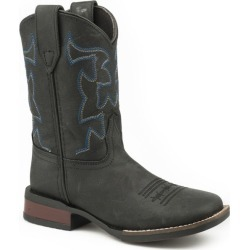 Roper Little Kids Cow Hide Sq Toe Boots 9 Black found on Bargain Bro India from Horse.com for $66.99