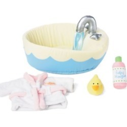 "Manhattan Toy Baby Stella - Bath Set 15"" Baby Doll Accessory"