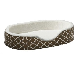 Quiet Time Teflon Brown Ortho Nesting Dog Bed MD found on Bargain Bro India from Horse.com for $41.99