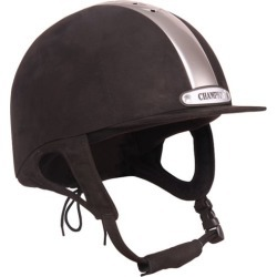 Champion Ventair Classic Helmet 6 3/8 Black/Silver found on Bargain Bro India from StateLineTack.com for $349.95