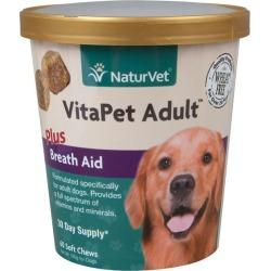 NaturVet Vita Pet Adult Plus Breath Fresh