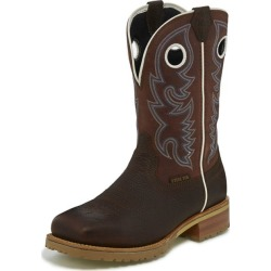 Justin Men Marshal Brick Red Steel Toe Boot 10.5D found on Bargain Bro India from Horse.com for $204.95