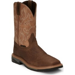Justin Mens Stampede Bolt Comp Boots 11.5 D Brown found on Bargain Bro India from StateLineTack.com for $134.95