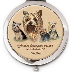 Yorkie Compact found on Bargain Bro Philippines from Bradford Exchange Checks for $19.99