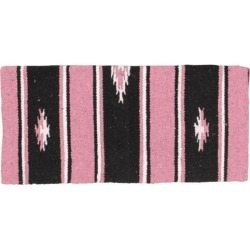 Tough-1 Sierra Acrylic Saddle Blanket Pink/Black 3 found on Bargain Bro India from Horse.com for $20.88
