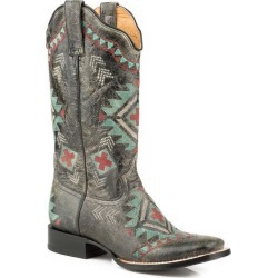 Roper Ladies Mai Square Toe Southest Boots 7 found on Bargain Bro India from Horse.com for $190.99