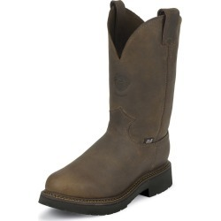 Justin Mens J-Max Pull On Bay Work Boot 10D
