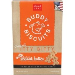 Cloud Star Itty Bitty Buddy Biscuits Peanut Butter found on Bargain Bro from StateLineTack.com for USD $5.31