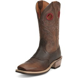 Ariat Mens Heritage Square Brown Rowdy Boot 15D found on Bargain Bro India from Horse.com for $189.95