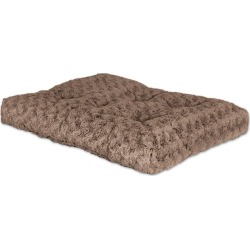 Quiet Time Deluxe Ombre Swirl Pet Bed 46x29 Mocha found on Bargain Bro India from Horse.com for $35.99