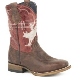 Roper Kids Bull Rider Square Toe Boots 1 found on Bargain Bro Philippines from StateLineTack.com for $93.99