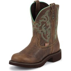 Justin Ladies Gypsy Rnd Toe 8in Jaguar Boots 10.5