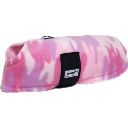 Snugpups Pink Camo Fleece Dog Coat XS