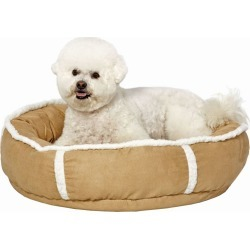 Quiet Time Deluxe Rondelle Pet Bed Khaki Large found on Bargain Bro India from Horse.com for $61.99