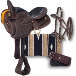 Silver Royal Lady Gait Endurance Saddle Pkg 15in found on Bargain Bro from Horse.com for USD $371.64