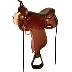 Circle Y High Horse Willow Springs Sdl 14 Reg Blk found on Bargain Bro India from Horse.com for $955.00