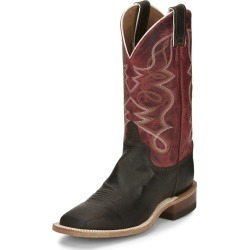 Justin Ladies Moore Sq Toe Boots 6 B Dark Brown found on Bargain Bro India from Horse.com for $186.62