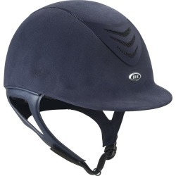 IRH IR4G Matte Vent Helmet X-Large Navy Suede found on Bargain Bro India from Horse.com for $219.95