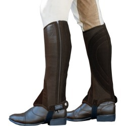 Dublin Easy Care Mesh II Half Chaps Small Brown found on Bargain Bro India from StateLineTack.com for $39.95