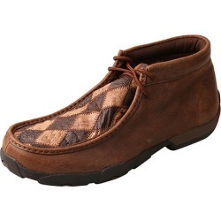 Twisted X Mens Oiled Saddle Driving Mocs 7.5W found on Bargain Bro India from Horse.com for $132.95