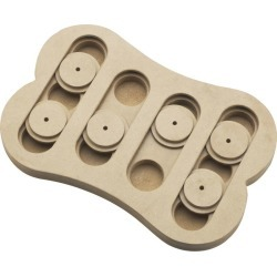 Seek-A-Treat Shuffle Bone Dog Puzzle Toy found on Bargain Bro India from Horse.com for $15.49
