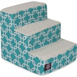 Majestic Pet Teal Links Pet Stairs 4 Step found on Bargain Bro India from Dog.com for $59.75