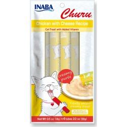 Churu Puree Creamy Chicken with Cheese Cat Treat