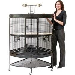 Prevue Large Corner Bird Cage