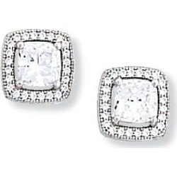Kelly Herd Cubic Zirconia Square Earring found on Bargain Bro India from Horse.com for $125.00
