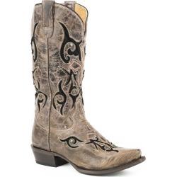 Roper Ladies Velvet Baby FleXtra Snip Boots 7.5 found on Bargain Bro India from Horse.com for $208.99