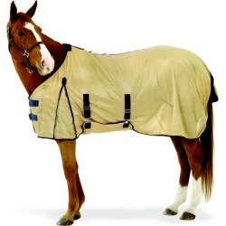 Equi Essentials Softmesh Fly Sheet 84 Tan/Navy found on Bargain Bro Philippines from Horse.com for $49.95