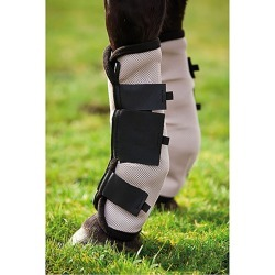 Amigo Fly Boots Horse Oatmeal/Black found on Bargain Bro India from StateLineTack.com for $46.95