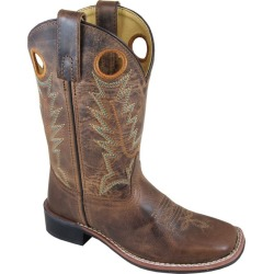 Smoky Mountain Kids Jesse Sq Toe Boots 2C Distr found on Bargain Bro Philippines from StateLineTack.com for $52.70