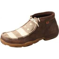 Twisted X Mens Driving Moccasins Brown/Ivory 7M found on Bargain Bro Philippines from Horse.com for $106.95