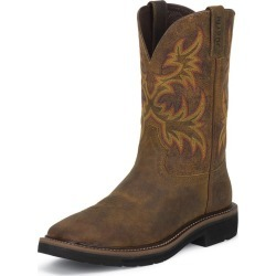Justin Mens Stampede Sq Rugged Work Boots 8EE found on Bargain Bro India from StateLineTack.com for $102.18
