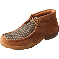 Twisted X Mens Saddle/Blue Driving Mocs 11.5 found on Bargain Bro from Horse.com for USD $87.36