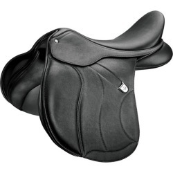 Bates AP+ CAIR Saddle Luxe Leather 17.5 Black