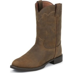 Justin Mens Roper Tan Apache Boots 6EE found on Bargain Bro from Horse.com for USD $84.41