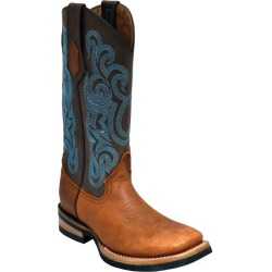 Ferrini Ladies Maverick Sq Toe Brown Boots 9 found on Bargain Bro India from StateLineTack.com for $149.99