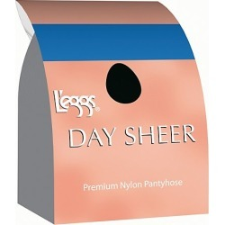 Leggs Day Sheer Regular, Toe Pantyhose 4-Pack Taupe A
