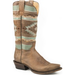 Roper Ladies Flex Mesa Snip Toe Boots 5 B Brown found on Bargain Bro India from Horse.com for $206.99